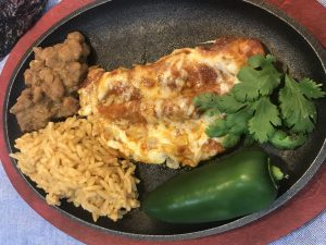 Authentic South Texas Cheese Enchiladas
